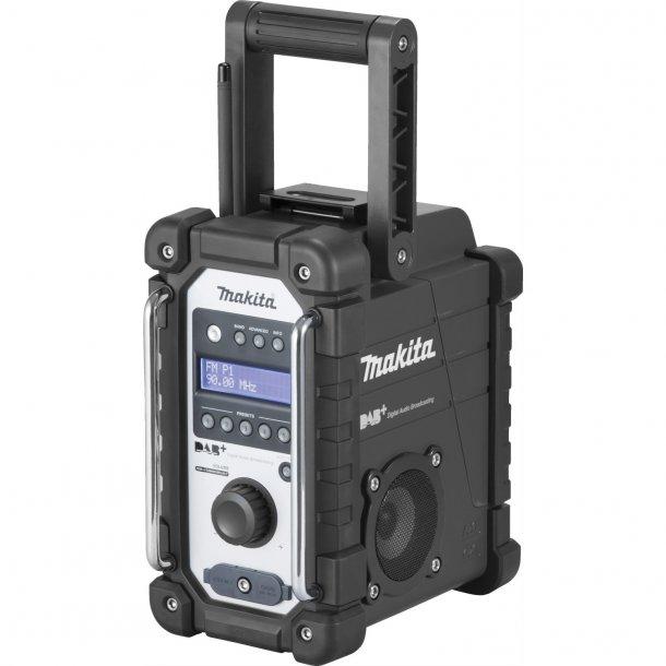 RADIO - MAKITA DMR110B DAB+ SOLO U/BATTERI OG LADER