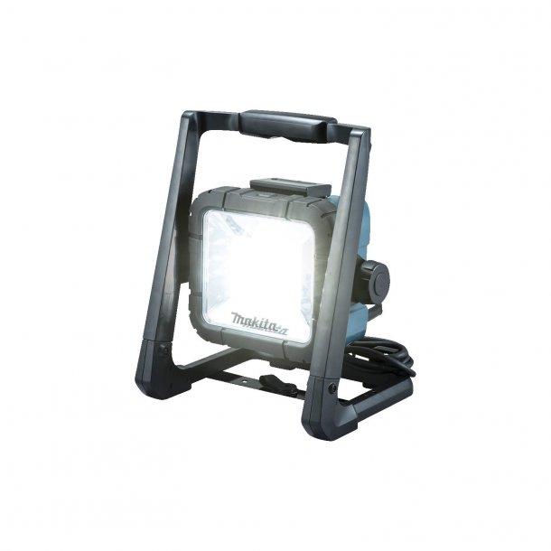 LAMPE - MAKITA LED LAMPE 14,4-18V-230V SOLO U/ BATTERI OG LADER