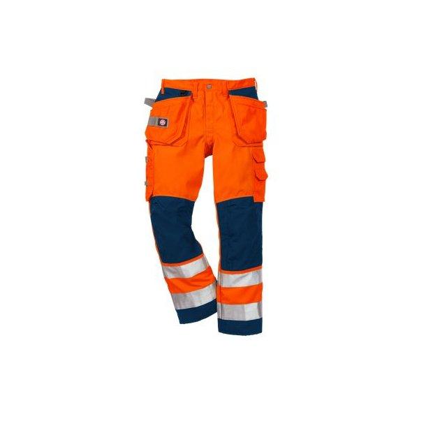 HI-VIS WINDSTOPPERr BUKSER 100371-271 FL. ORA./NAVY