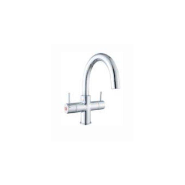 Geyser dynamic håndvaskarmatur 2 greb, krom