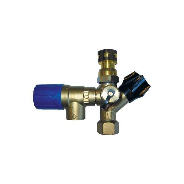 FRESH Sikkerhedsaggregat 3/4 10 bar til vandvarmer