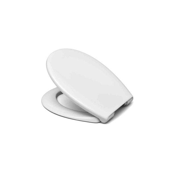 ADORA toiletsæde universal med softclose, hvid