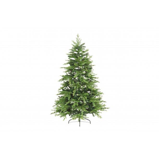 Naturtro juletræ 180 cm flammeresistent