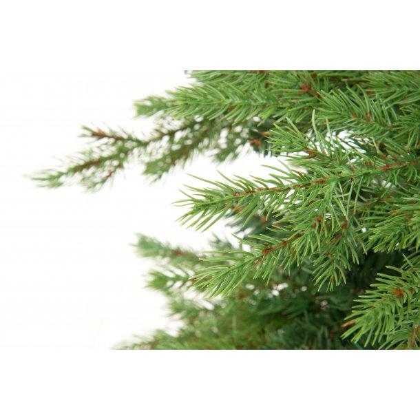 Naturtro juletræ 210 cm flammeresistent