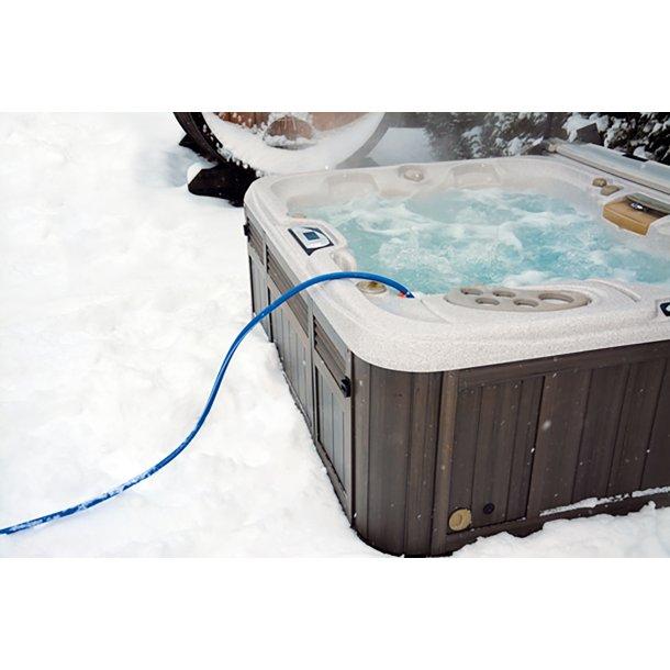Polarflex vandslange 15 mtr med indbygget varmekabel