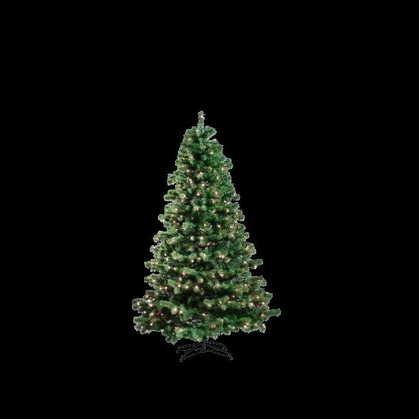 Kunstigt juletræ 180 cm med 240 LED lys