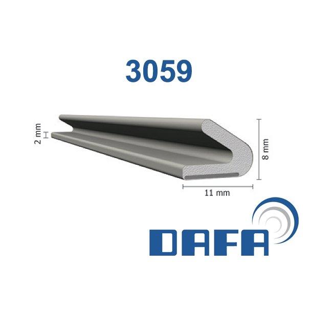 DAFA Q-LON TÆTNINGSLISTE 3059 PRISEN ER PR. METER