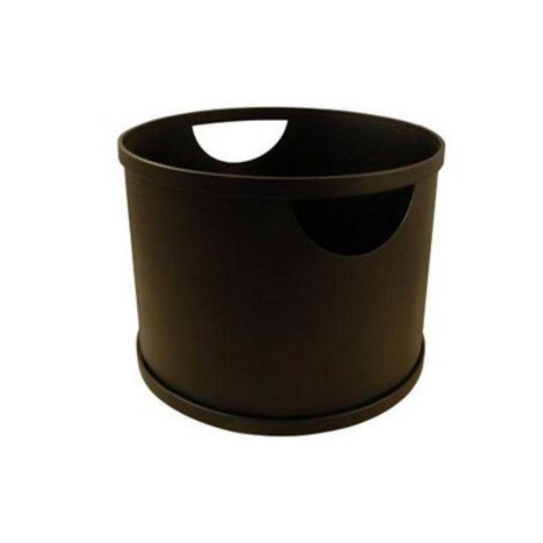 Brændespand - stål (Ø40)