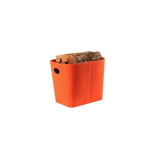 Brændespand - filt Mål ca. H:35cm L:44 B:35