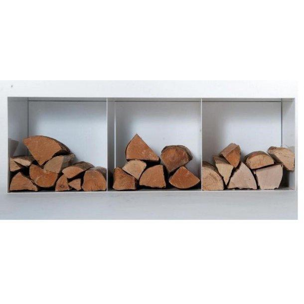 Brændebox 40x120x35 (Stående eller væghængt)