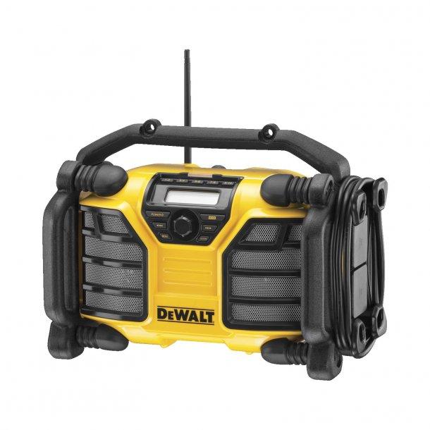 DEWALT DCR017 DAB+/FM radio m/Multi volt lader
