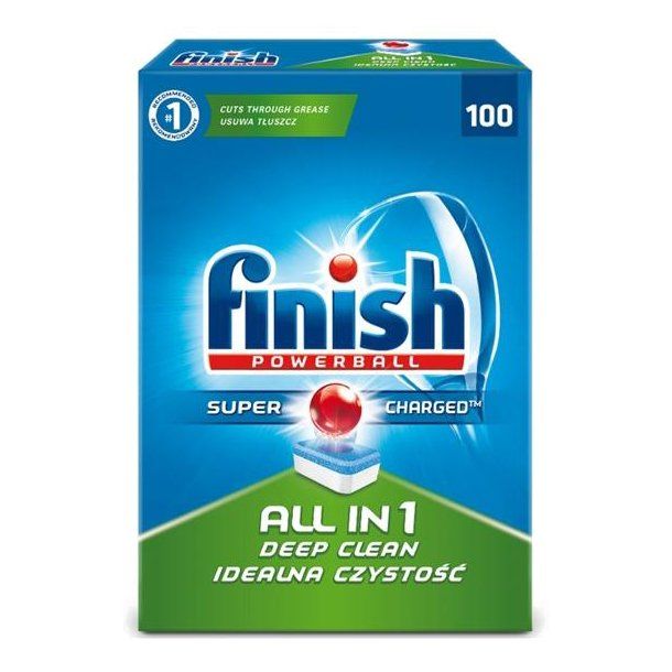 Finish Opvasketabs 100stk