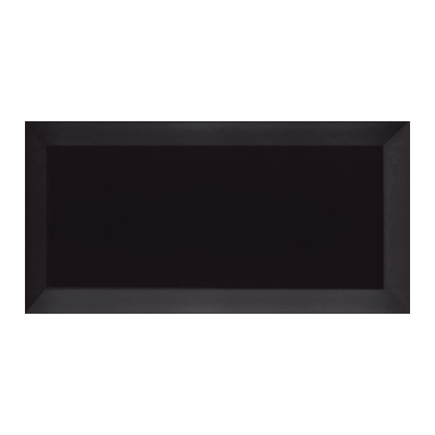 Metro Biselado Sort Blank Facet 7,5 x 15 cm