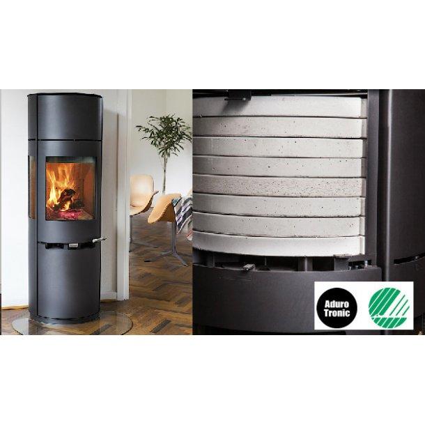 Aduro 9.7 Brændeovn med varmeakkumulering - 3-9 kW