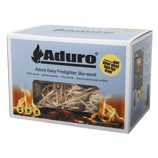 Aduro Easy Firelighter bio-wool optænding