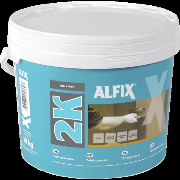 ALFIX 2K TÆTNINGSMASSE GRÅ - 10 kg