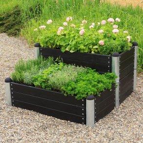 Have (blomsterkasser, tørrestativer, renovationsskjuler mm.)