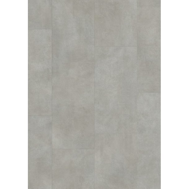 Pergo Warm Grey Concrete Tile Premium Click PerfectFold V