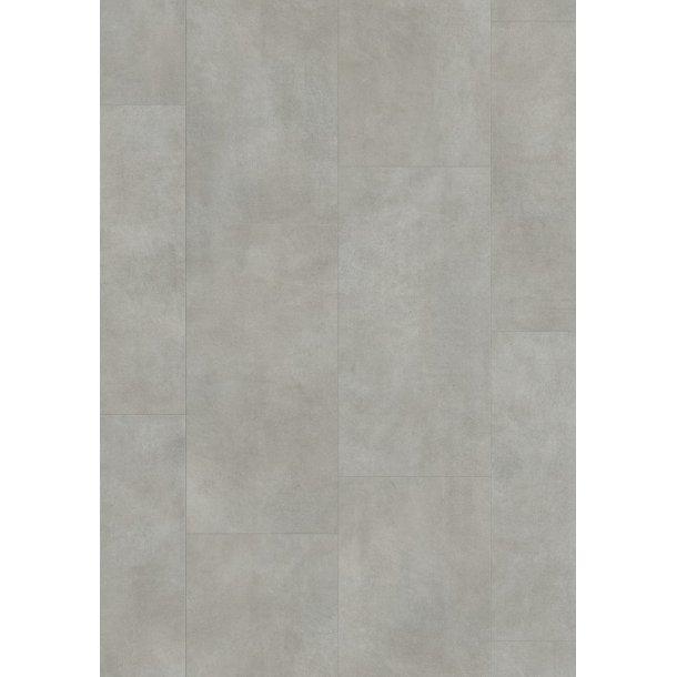 Pergo Warm Grey Concrete Tile Optimum Click PerfectFold V