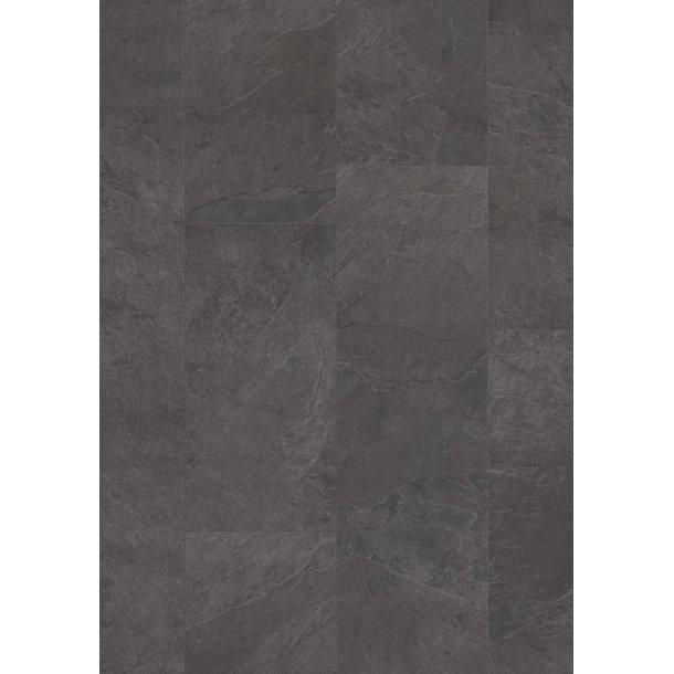 Pergo Black Scivaro Slate Tile Optimum Click PerfectFold V