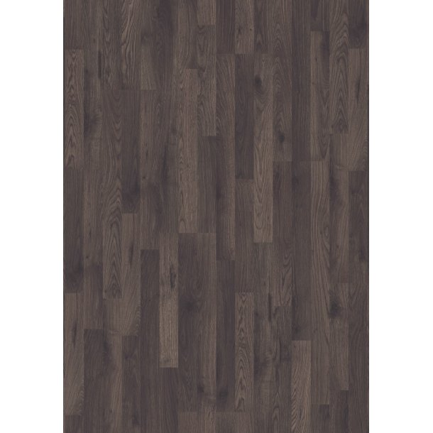Pergo Dark Brown Oak, 3-strip Classic Plank 0V - 1/3-strip TitanX