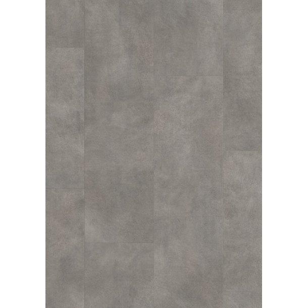 Pergo Dark Grey Concrete Tile Premium Click PerfectFold V