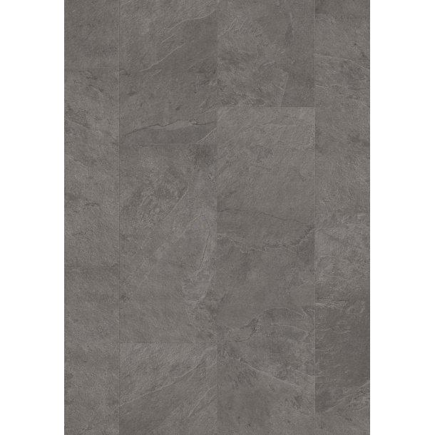 Pergo Grey Scivaro Slate Tile Premium Rigid Click Uniclic