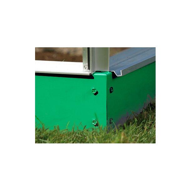 Sokkel til drivhuse på (5,0 m2) - Grøn