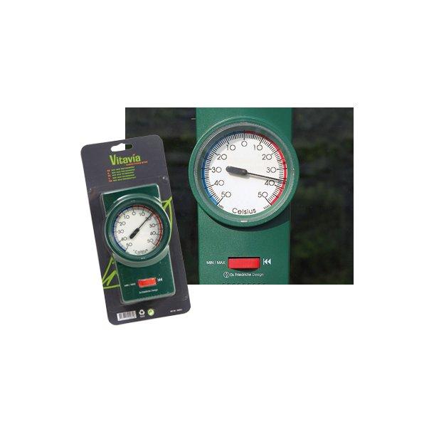 Termometer til drivhuset Min./Max.