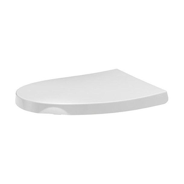 Toiletsæde Sign Soft m/lady grip Hvid SC+LO